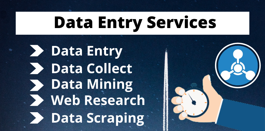 I will be Your Virtual assistant for Data Entry,  data mining,  copy-paste,  Internet research