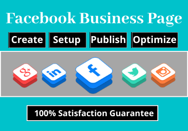 Create,  Setup,  and Publish your Facebook Business Page
