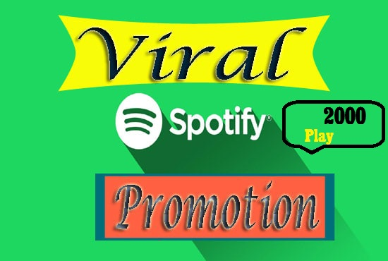 Give Fast 2000 High Quality Real Music Track Promotion