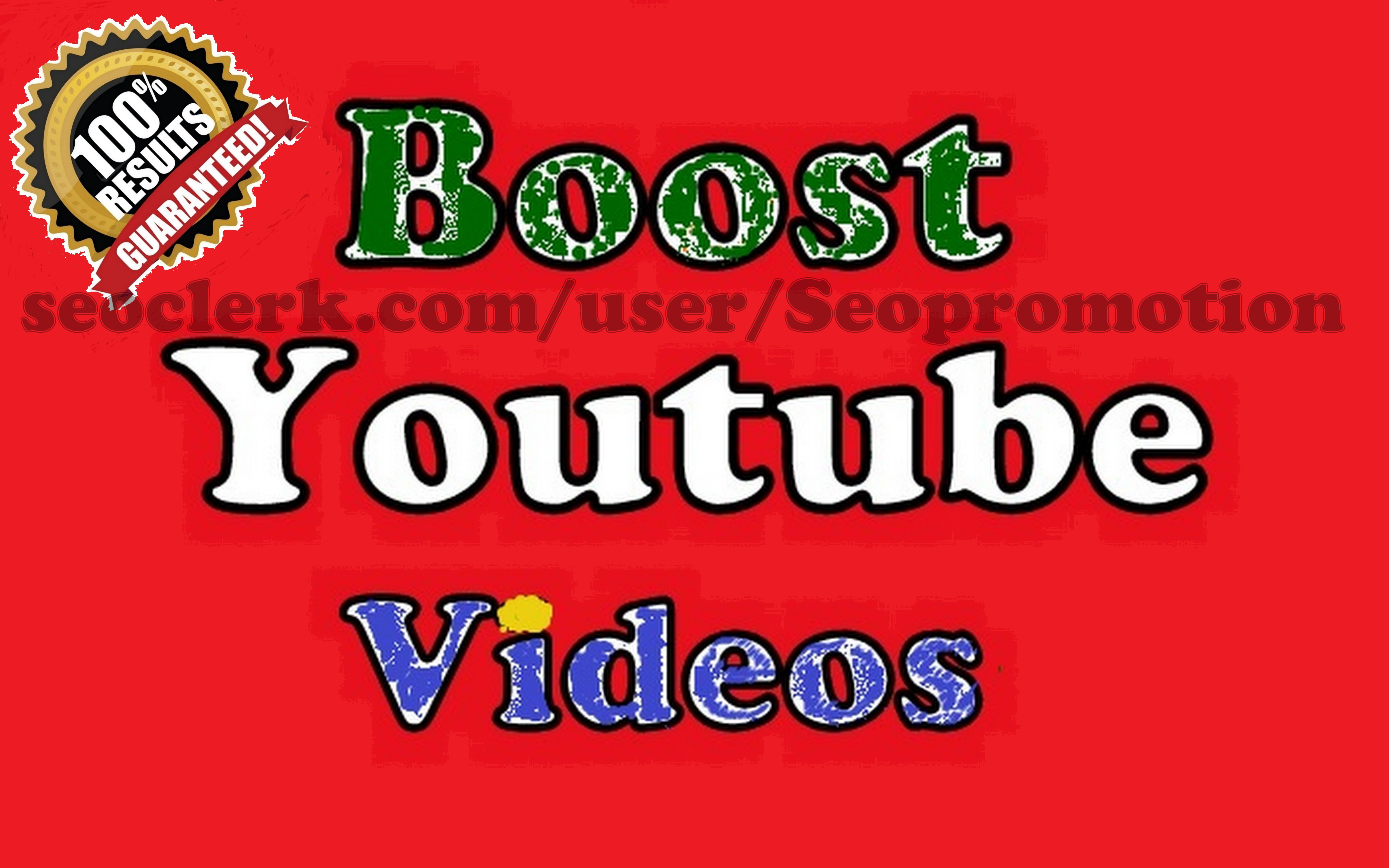 Fast video Promotion Seo Optimizied by Social Media Marketing