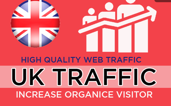 50,000 targeted unique and organic UK traffics