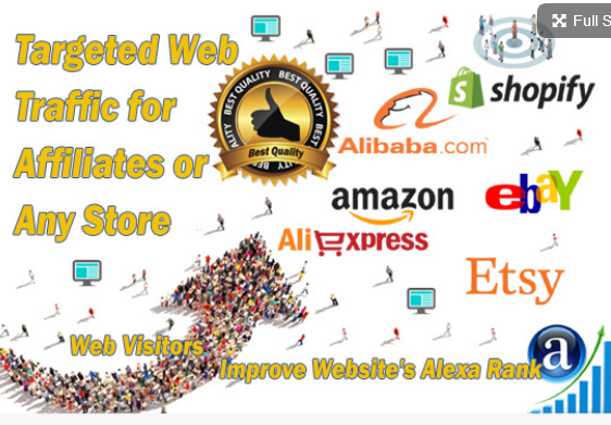 Unlimited Organic and Real traffic to affiliate links for 30 DAYS