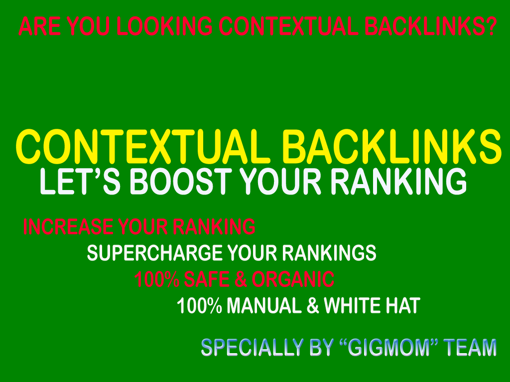 Unique 100 Contextual Backlinks to Rank Higher - Monster Backlinks Marketplace