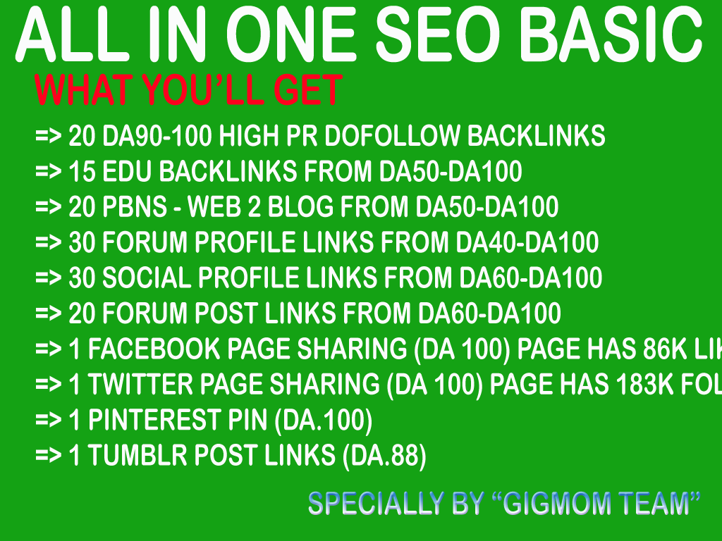 All in One SEO Basic to Boost Search Engine Results