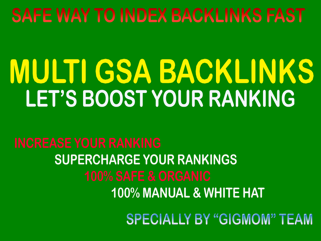Massive 15,000 Multi GSA Backlinks to Index Backlinks Fast