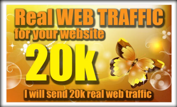 20000 Organic Real Website Traffic Visitors Low Bounce Rate