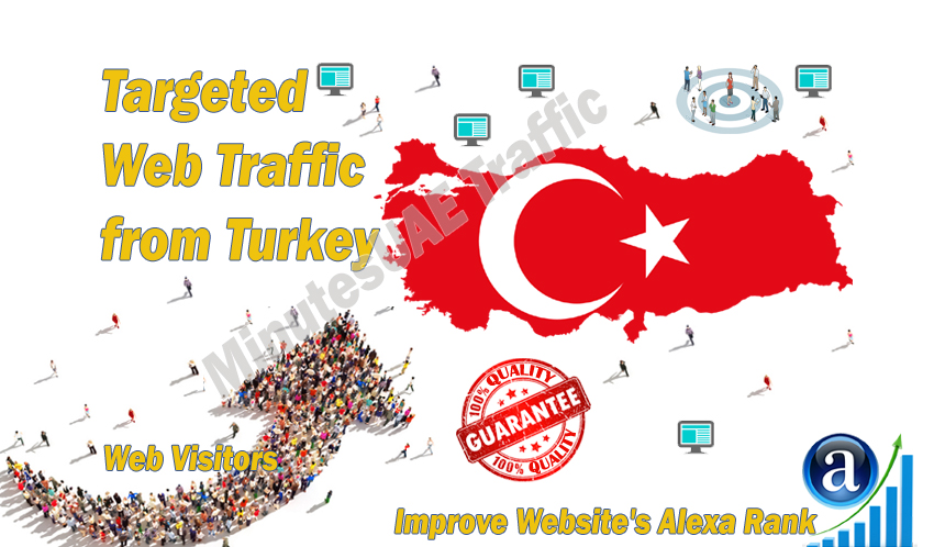 Turkish web visitors real targeted Organic web traffic from Turkey