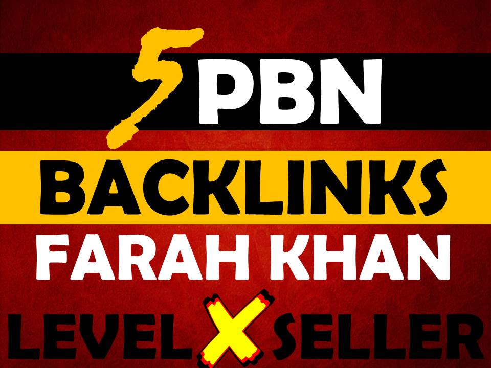I will provide 5 PBN SEO Backlinks
