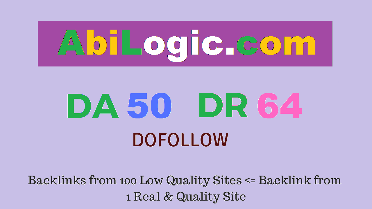 Publish Guest Post on Abilogic.com DA50