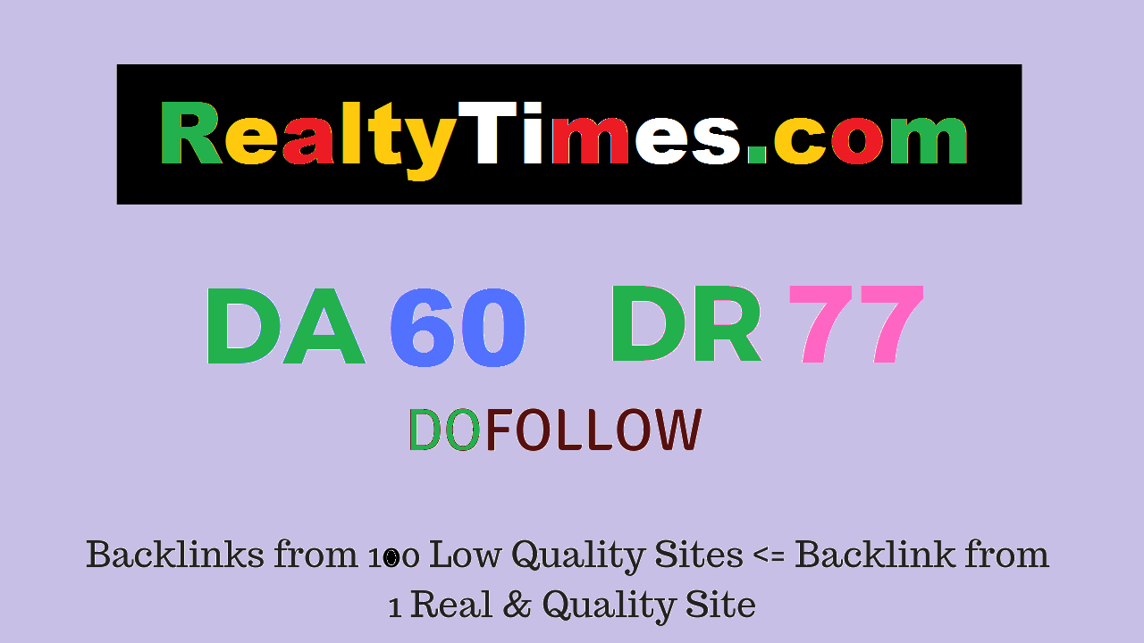 Publish Guest Post on Realtytimes.com