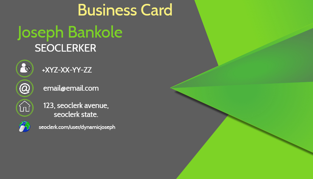 Get a digital business flier or cards