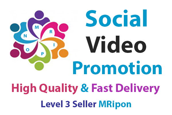 Get Instant High Quality Real Video Promotion
