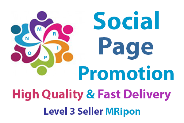 Get Instant High Quality Social Page Promotion