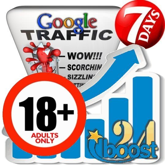 Adult Search Traffic from Google XXX & 18+