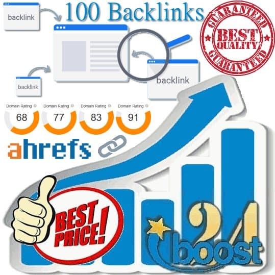 Trusted & Indexed 100 Authority Links DR 70 to 99