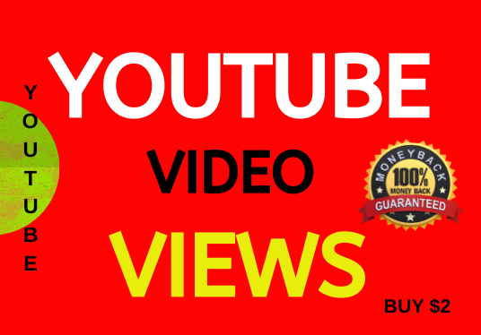 ORGANIC VIDEO PROMOTION VIEW NON-DROP LIFETIME GUARANTEE