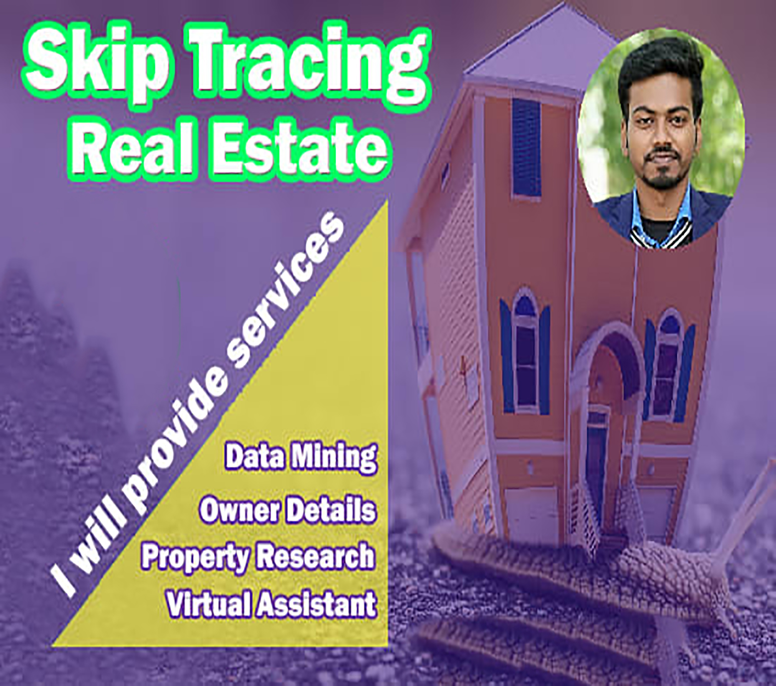 I can provide 3 Skip Tracing Links for Real Estate Investors