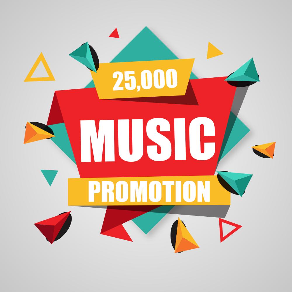 Twenty Five Thousand Real Music promotion