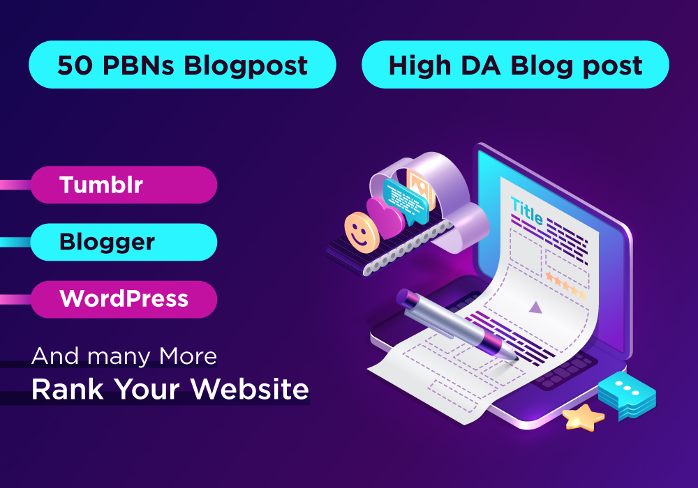 High DA Upto 200 Contextual Backlinks for Higher Ranking