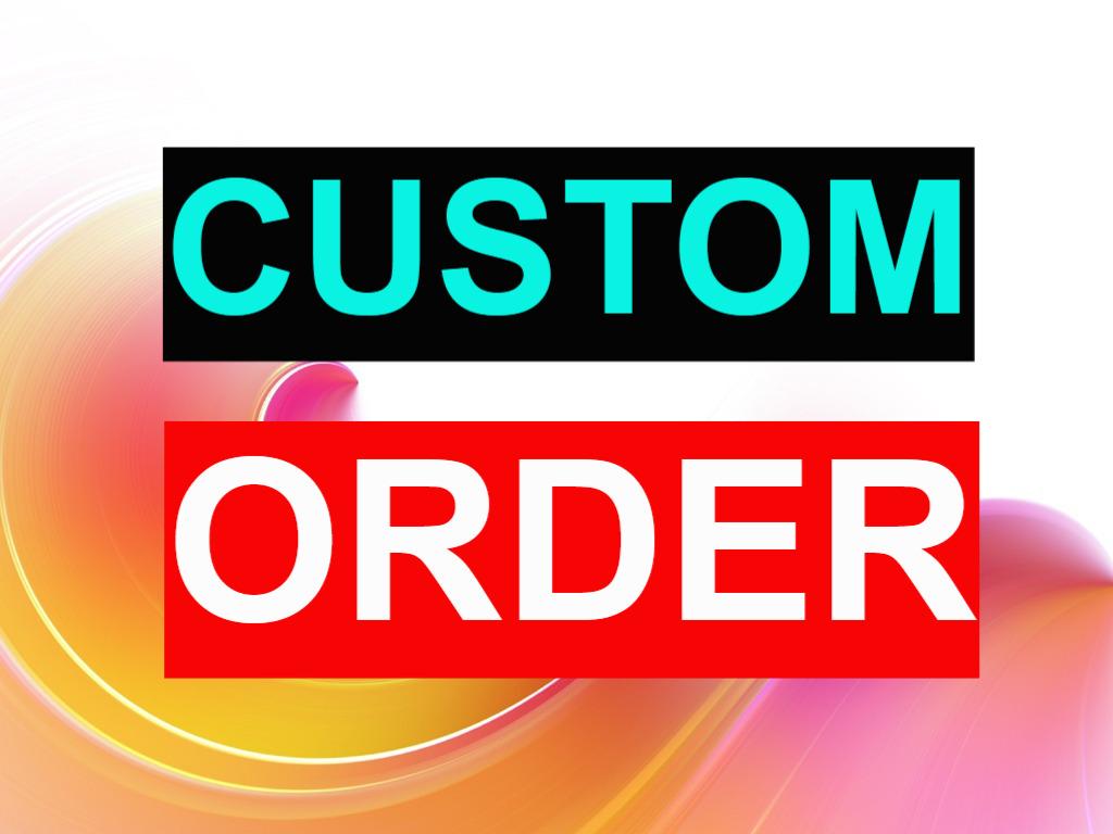 Custom Order for Social Service Message me before order