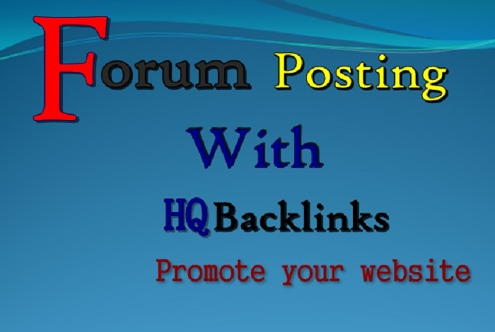 15 High Quality Permanent Forum Post SEO Backlinks For Google Ranking