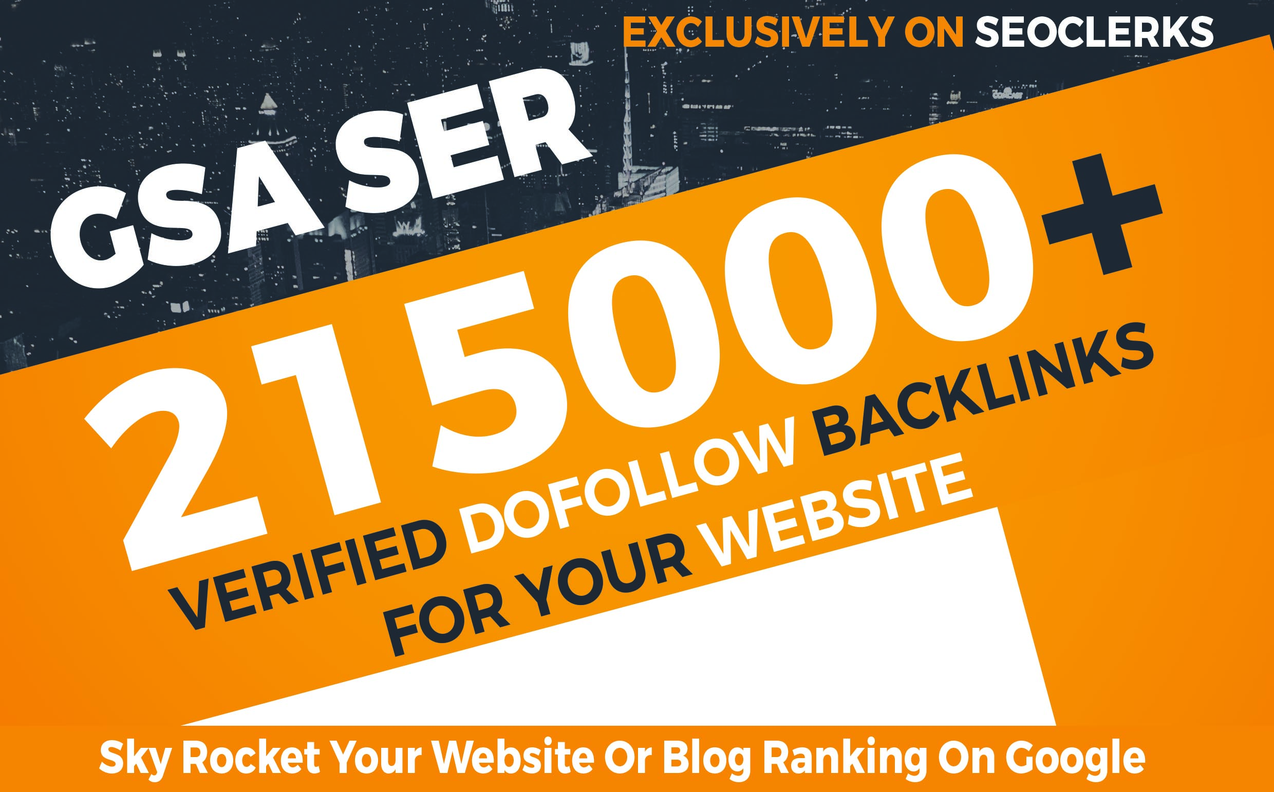 215,000+ GSA Dofollow Backlinks to Boost your Site Ranking on Google SERP
