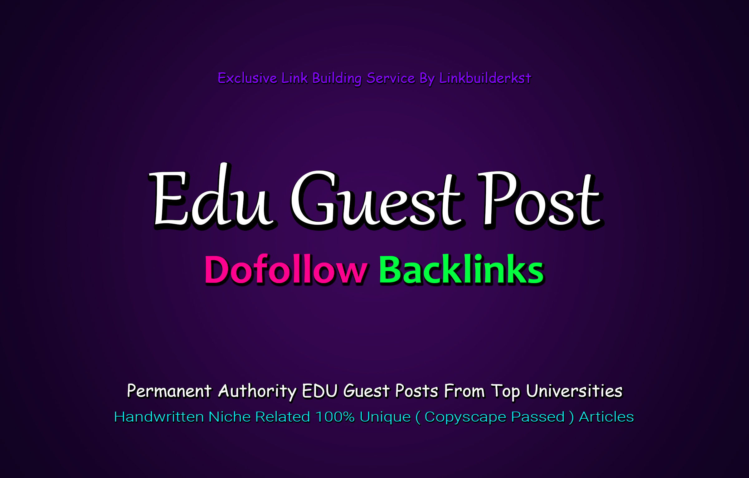 Limited Time Offer - Write And Publish 3X EDU Guest Posts On Top 3 Universities