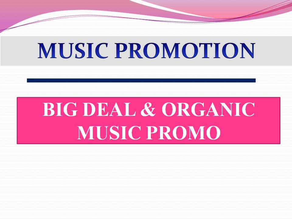 Ultimate & Organic Music Promotion To Promote Your AudiomackTracks/Song