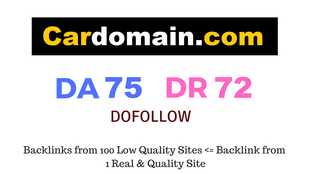 Publish Guest Post on Cardomain. com DA75 DR72 - CAR WEBSITE