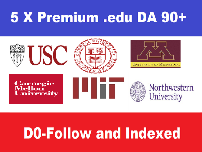 5 EDU Guest Posts on USA Universities - DA90+