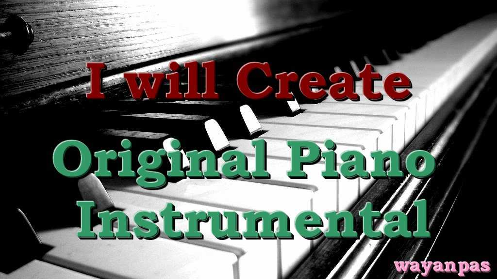 create original piano music for your video background