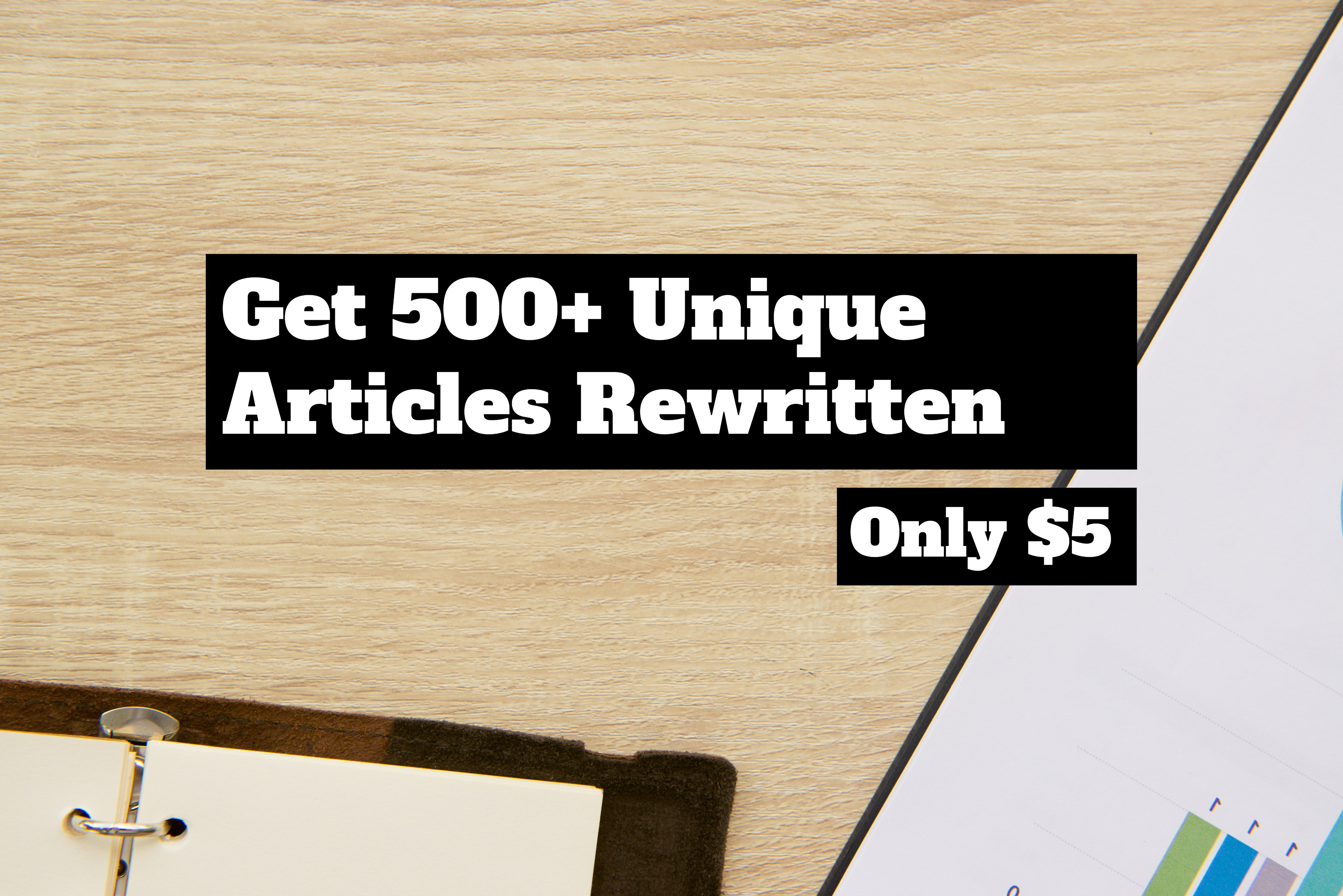 Turn Your Article Into 500+ Unique Articles