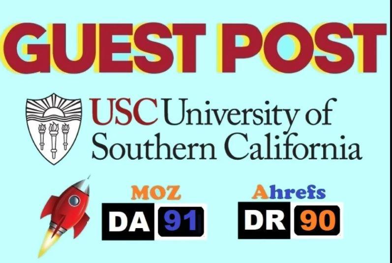 Publish Guest Post on Usc Edu blog DA91 DR 90