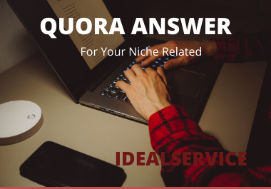 Provide high quality 2 Quora answer niche related with your link