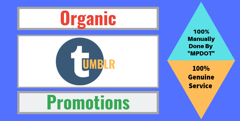 Organic Tumblr Promotions On Monster Backlinks