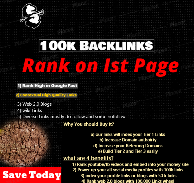 1 million Dofollow HQ Backlinks Get Top SEO Ranking in 7 Days