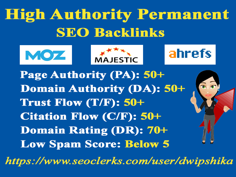 I will do 20 High Authority Profile Backlinks