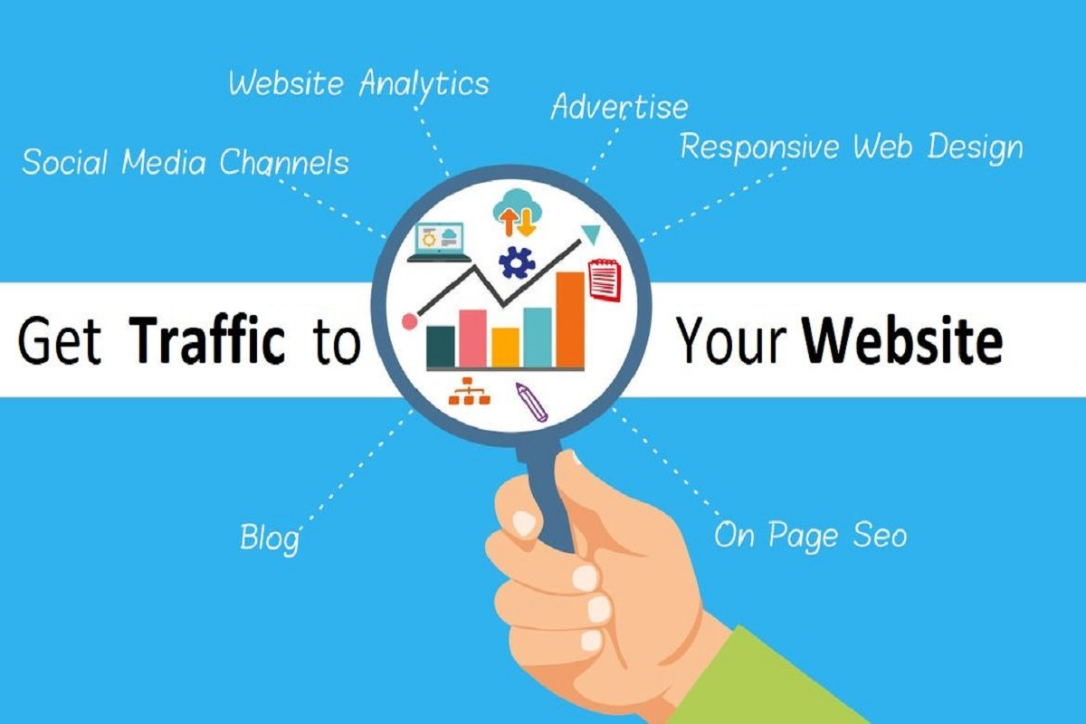 Provide DAILY 300+ Organic And Social Web Traffic for a month