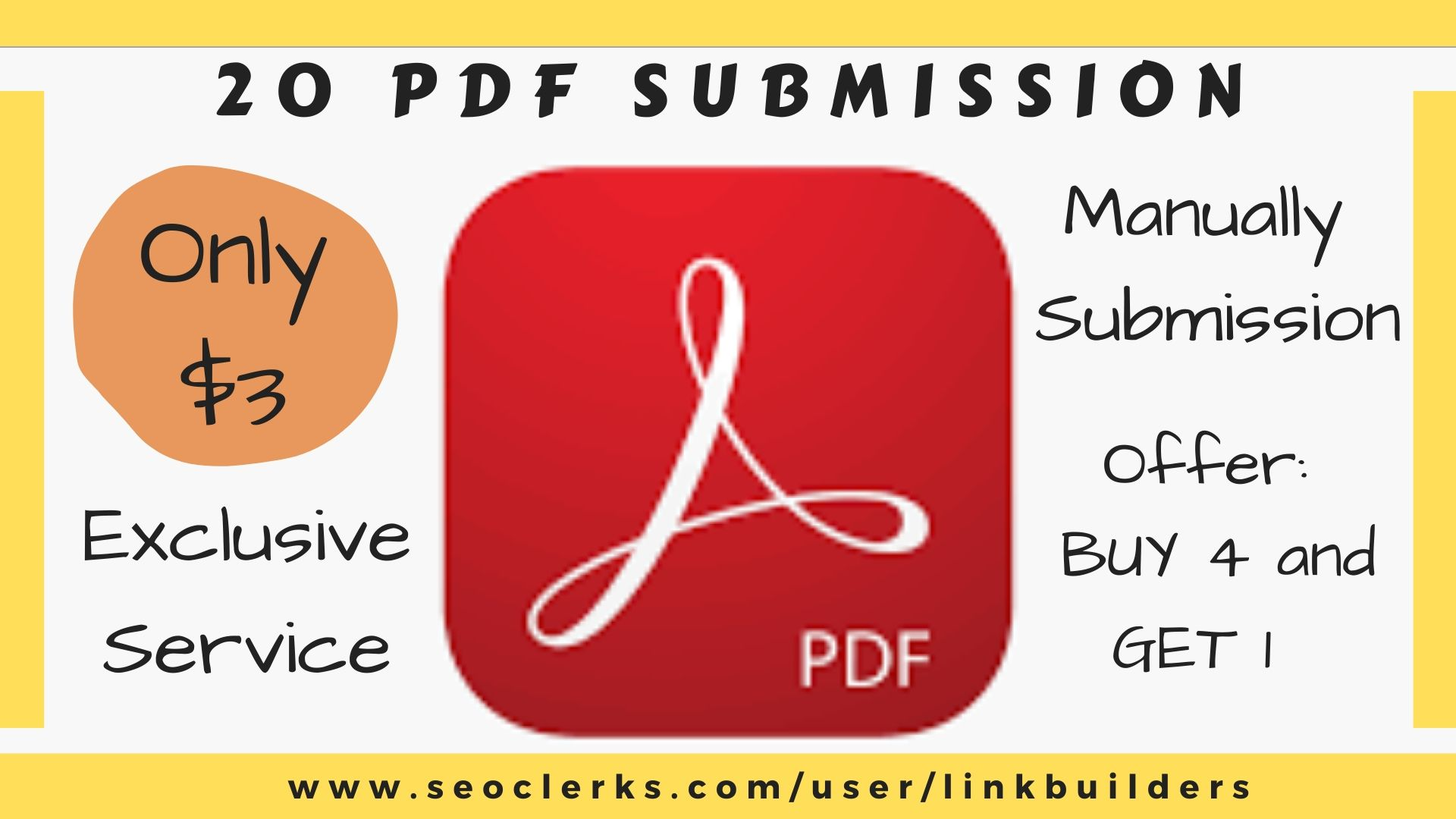 20 PDF submission on document sharing sites