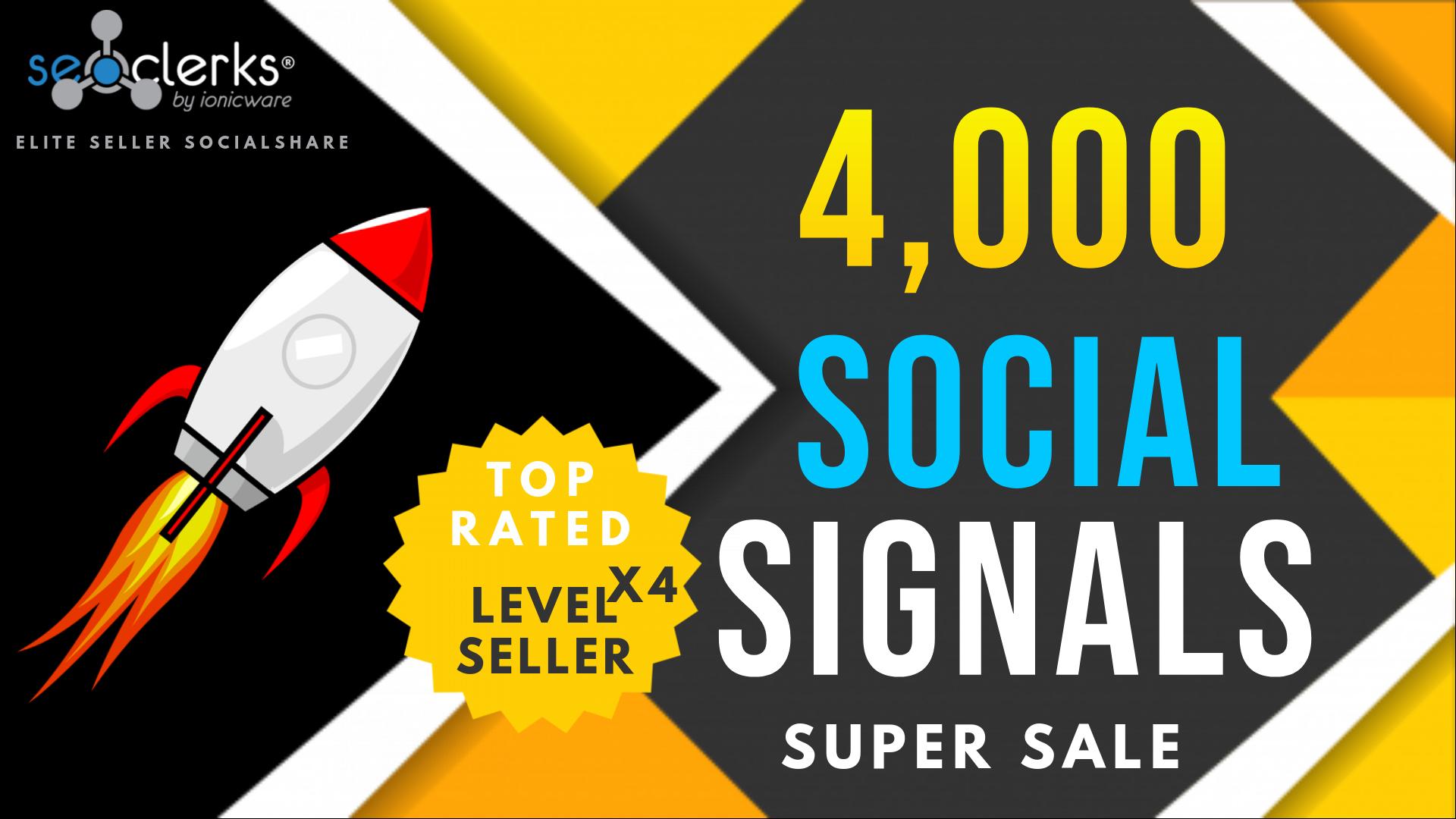 4000 PR10 Social Network Signals / Bookmarks / Backlinks / Help To Website Traffic Google Rankin