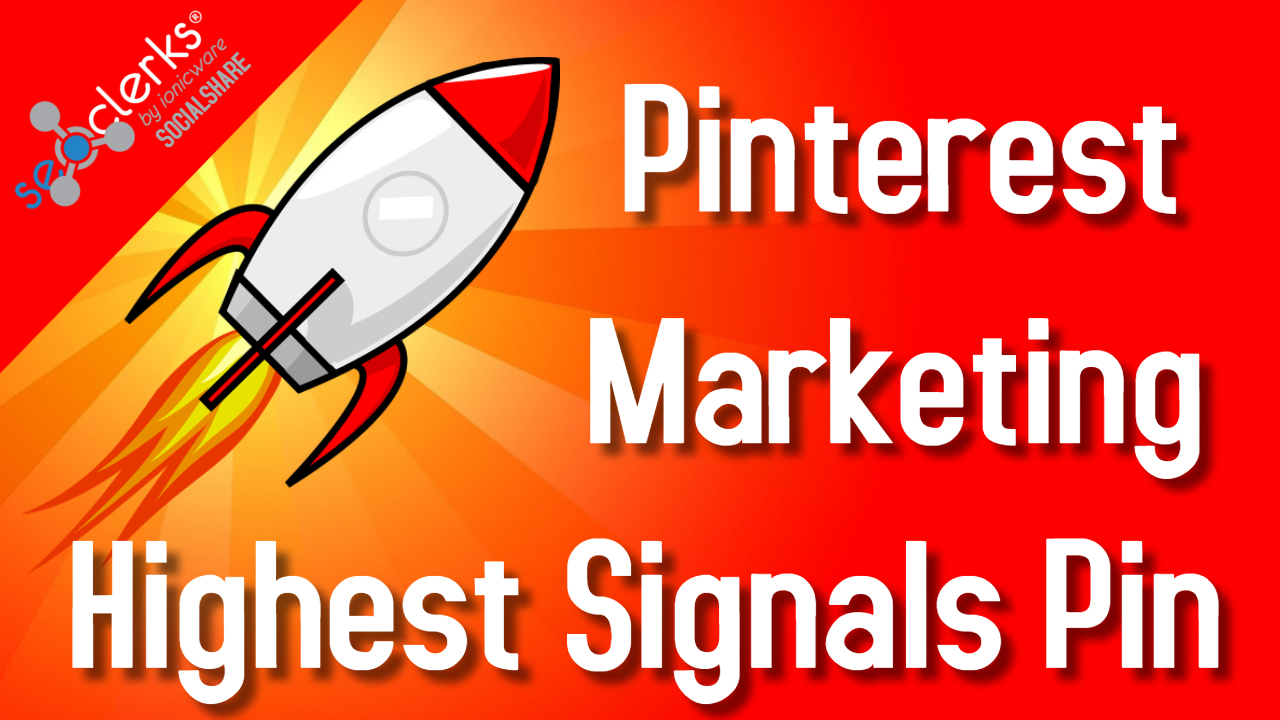 Improve Your Pinterest Marketing 1000 Social Signals Bookmarks Skyrocket Site Rank First Page Of GLE