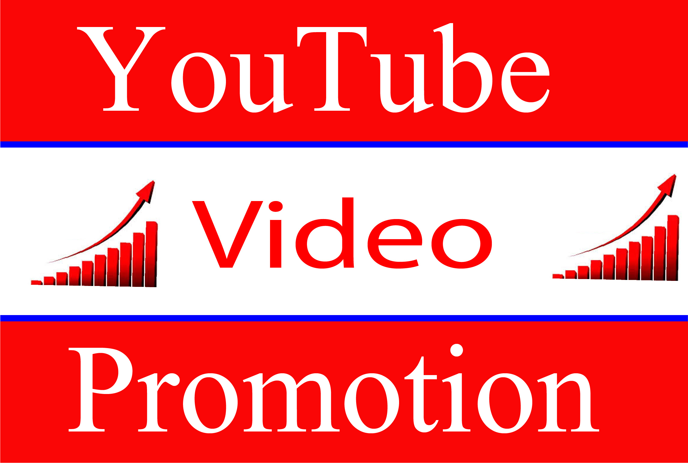 YouTube Video High Quality Promotion & Social Media Audience