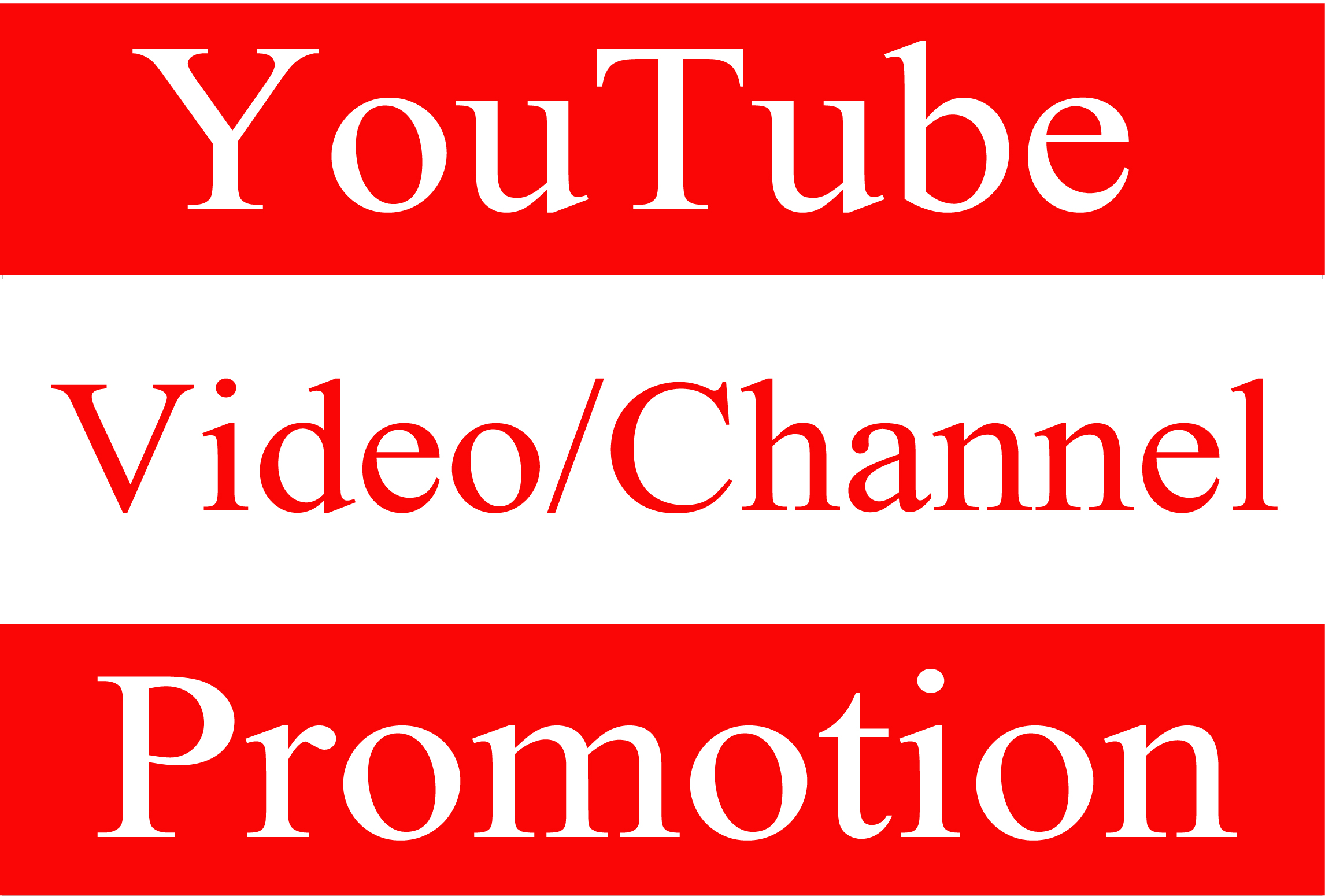 YouTube Video/Account Fast Promotion Worldwide and Real Audience