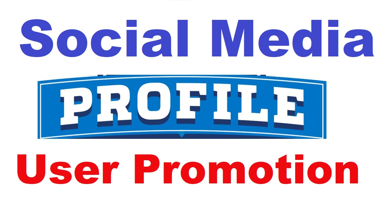 Real Social Profile User Or Post Promotion High Quality