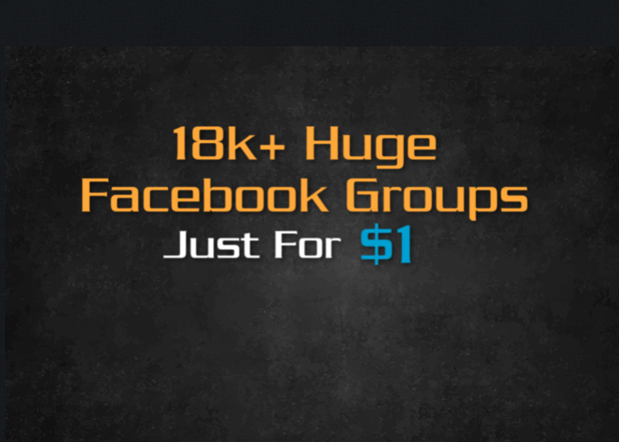 List of 18k+ Facebook Groups With Over 10.5 Million Member Base Real Traffic