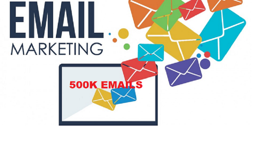 Email Marketing Campaign Send 500,000+ Emails