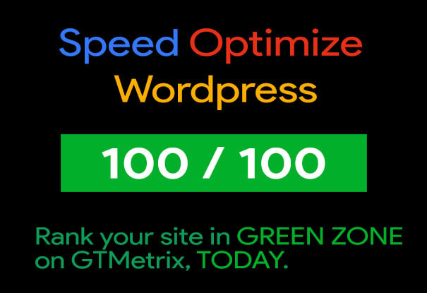 Speed up & SEO Optimize Website - 2X Speed Guaranteed