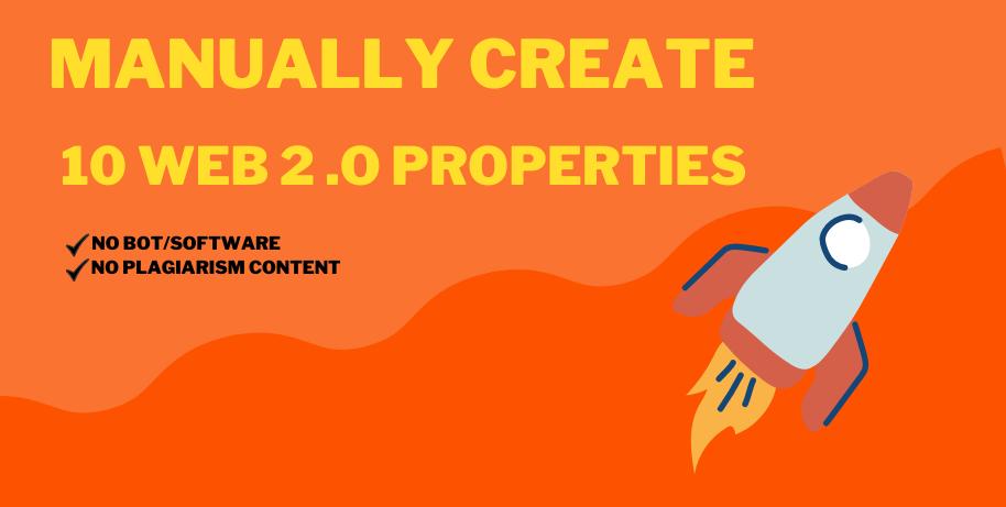 Manually Create 10 Web 2.0 Properties