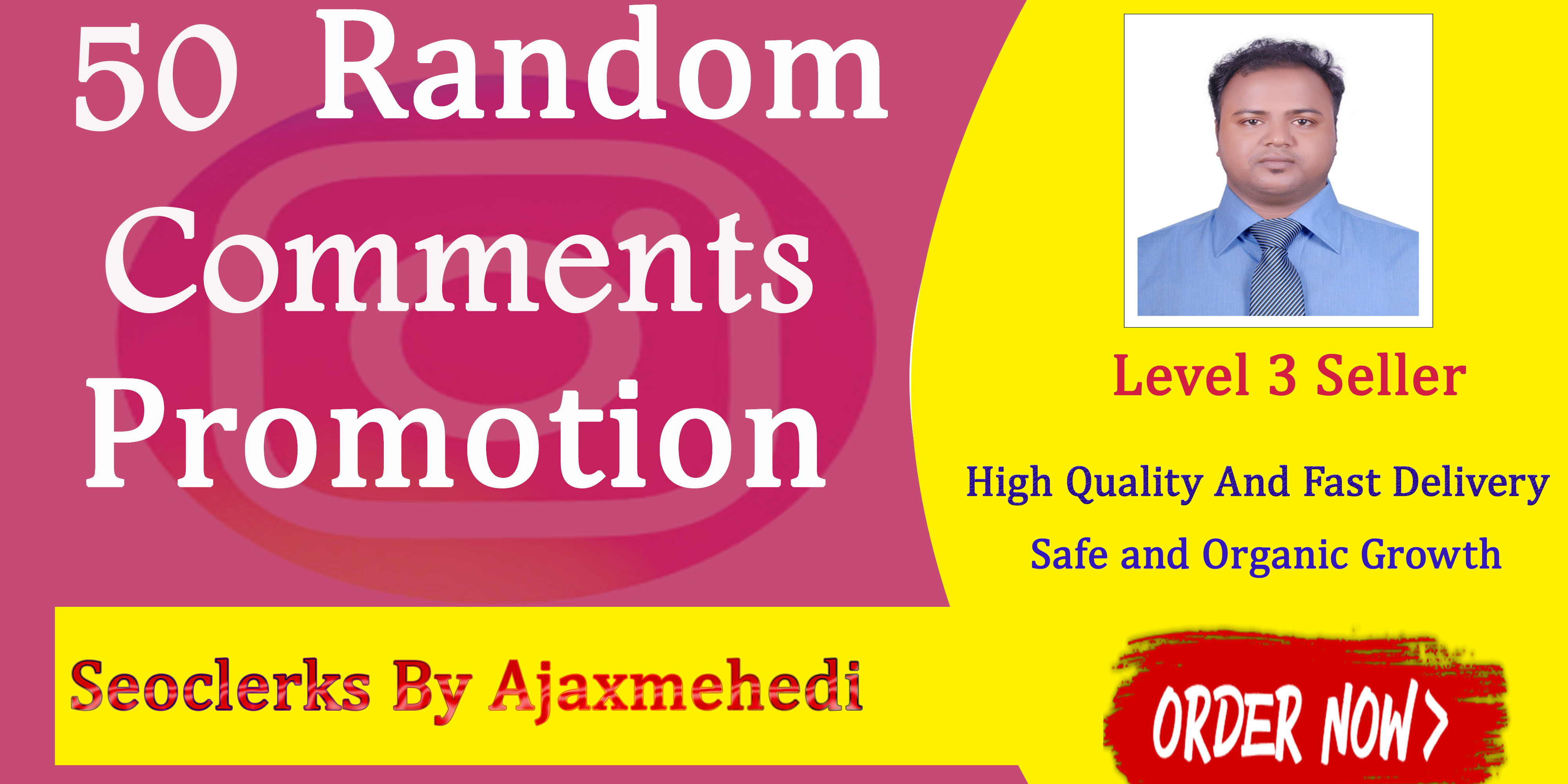 Genuine Instant Do A High-Quality Random Comments And Increase Engagement