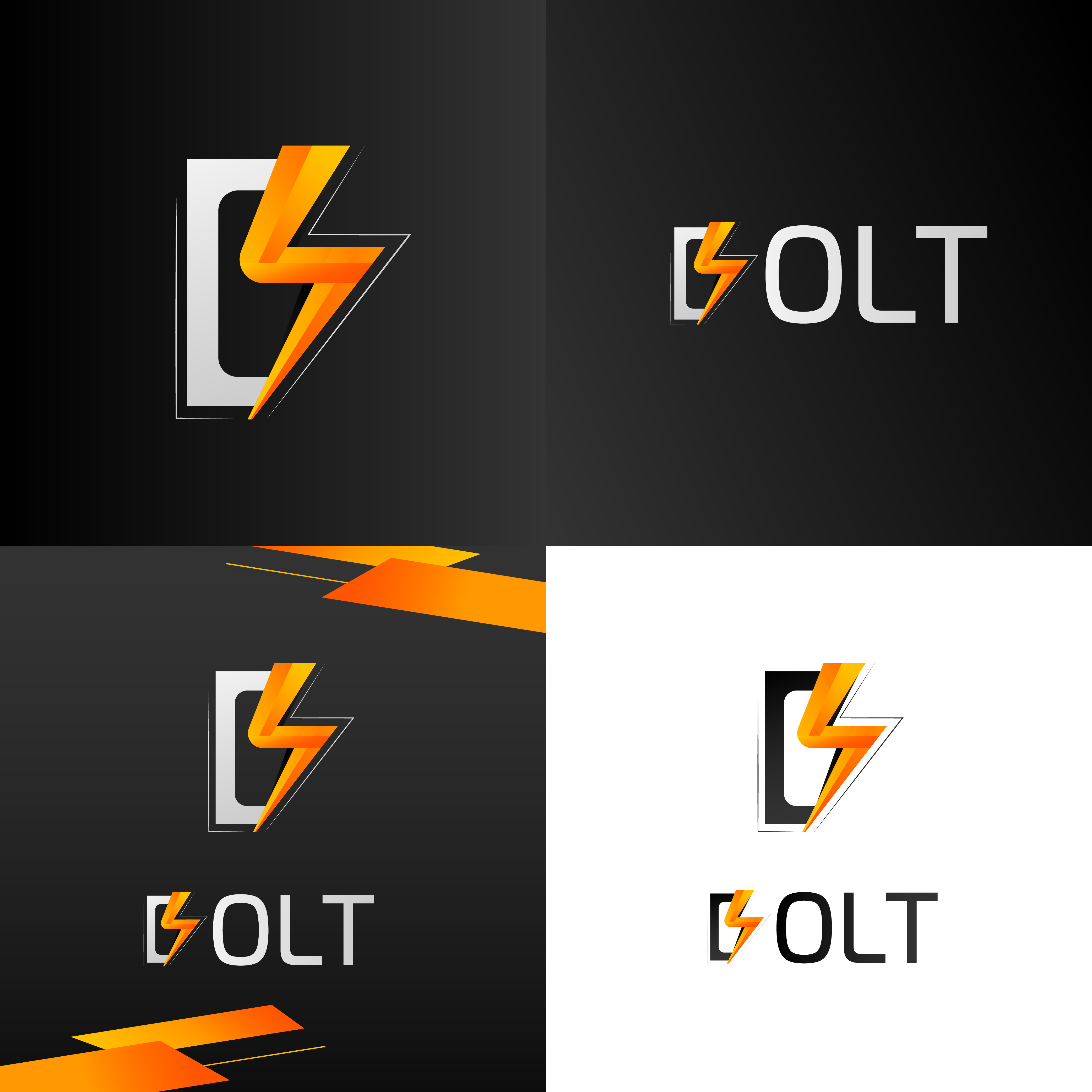 I will design simple and informative logo